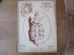 L'ART ET LA MODE N° 17 DU 24 AVRIL 1920 AU DOS PUBLICITE ROSE SANS FIN ARYS - Fashion