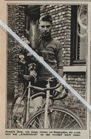 BONHEYDEN..1934.. HENDRIK DOM EEN JONGE RENNER UIT BONHEYDEN - Old Paper
