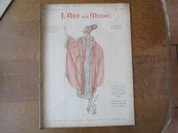 L'ART ET LA MODE N° 16 DU 16 AVRIL 1921  AU DOS PUBLICITE POUR ÊTRE BELLE CRÊME FLOREÏNE - Fashion