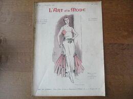 L'ART ET LA MODE N° 36 DU 3 SEPTEMBRE 1921  AU DOS PUBLICITE FLOREÏNE CRÊME DE BEAUTE HEROUARD A.GIRARD - Fashion