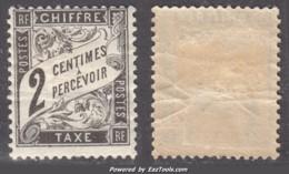 2c Duval Neuf  * TB (Y&T N° 11 , Cote: 60€) - 1859-1955 Mint/hinged