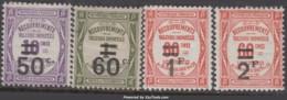 Y&T N° 51 à 54 Neufs * TB (cote: 60€) - Postage Due