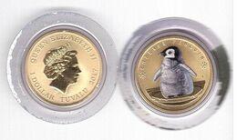 Tuvalu - 1 Dollar 2017 UNC Emperor Penguin Lemberg-Zp - Tuvalu