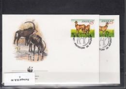 WWF Issue Michel Cat.No. Angola 799/802 FDC - FDC