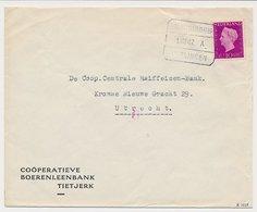 Treinblokstempel : Groningen - Harlingen A 1947 - Ohne Zuordnung