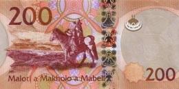 LESOTHO P. 25 200 M 2015 UNC - Lesoto