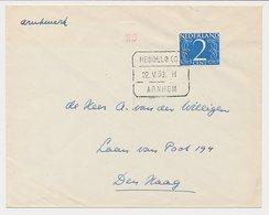 Treinblokstempel : Hengelo (O.) - Arnhem H 1953 - Ohne Zuordnung