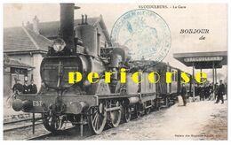 55  Vaucouleurs  Train En  Gare - Altri Comuni