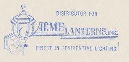 Meter Top Cut USA 1958 Lantern - Elettricità