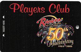 Riviera Casino - Las Vegas, NV - BLANK 50th Anniv. Slot Card - Casinokarten