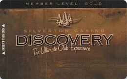 Silverton Casino - Las Vegas, NV - Slot Card BLANK - Casinokarten