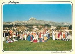 13 - Aubagne - Les Dansaïres Du Garlaban - Folklore - Carte Neuve - CPM - Voir Scans Recto-Verso - Aubagne