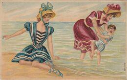 Pin-ups ; Victorian Bathing Beauties , 00-10s - Pin-Ups