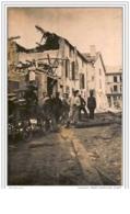 60.MONTATAIRE.BOMBARDEMEN T  1914-18.CP PHOTO. - Montataire