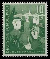 BRD 1952 Nr 153 Postfrisch X875BDE - Ungebraucht