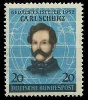 BRD 1952 Nr 155 Postfrisch X875BEE - Ungebraucht