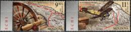 "Moldova 2020 Europe""Ancient Postal Routes"" 2v Quality:100% - Moldavia"