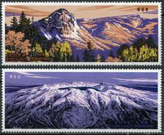Korea 2020. Mountains (MNH OG) Set Of 2 Stamps - Korea, North