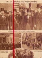 Orig. Knipsel Coupure Tijdschrift Magazine - Vilvoorde - Nationale Landdag - 25 Jaar Rederijkers De Violier - 1928 - Non Classés