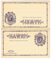 HAWAII- USA -  Postal Stat. Reply Card  - GS-Karte Mit Antwort # 4 Unused - Ungebraucht - Both Parts Together- 080 - Hawaii