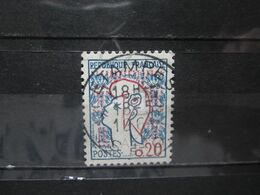 """VEND BEAU TIMBRE DE FRANCE N° 1282 , OBLITERATION """" ETAMPES """" !!! - 1961 Marianne De Cocteau"""