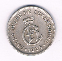 10 CENTIMES  1924 LUXEMBURG /7026/ - Lussemburgo