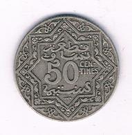 50 CENTIMES 1921 MAROKKO /7027/ - Marocco