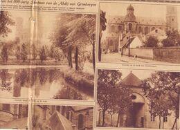 Orig. Knipsel Coupure Tijdschrift Magazine - Herdenking 8900 Jarig Bestaan Abdij Van Grimbergen - 1928 - Oude Documenten