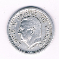 1 FRANC 1943 MONACO /7030/ - 1922-1949 Luigi II