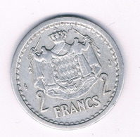 2 FRANCS 1943 MONACO /7031/ - 1922-1949 Luigi II