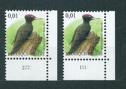 Zegel 3939 ** Postfris Met Plaatnummers 1-2 - 2001-2010