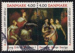 Denmark 1997, Complete Set Vfu. Cv 2,50 Euro - Usati