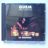 CD/ Guem Percussions - Le Serpent - Musiques Du Monde