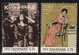 Denmark 2000, Minr 1236-1237 Vfu. Cv 2,90 Euro - Usati