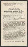 Priester, Pretre, Constantonius De Smet, Vurste, Deinze, Sleidinge, Oultre, Gent, 1927 - Religion & Esotericism
