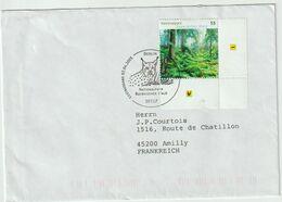 Allemagne. Germany. .Lynx. Luchs. Cachet Premier Jour. Nationalpark Bayerischer Wald . - Felinos
