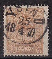 Sweden 1862, Minr 14-II Vfu. Cv 12 Euro - Svezia