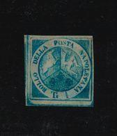 """***REPLICA*** Of 1860 Two Sicilies ( Naples ), 1/2t Deep Blue """"Trinacria"""" - Naples"""