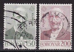 Faroer 1980, Complete Set Vfu - Isole Faroer