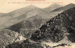 MONT-LOUIS Le Train électrique à Flanc De Montagne - Otros Municipios