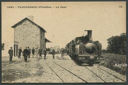 Plougasnou - La Gare N° 11940 - Collection Documentaire E. S. - Voir 2 Scans - Plougasnou