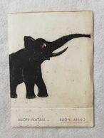 Cartolina Postale Augurale Festività 1934-35 - Anno Nuovo