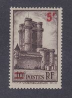 TIMBRE FRANCE N° 491 NEUF ** - Nuovi