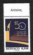 Monaco 2020 - Yv N° 3244 ** - 50 Ans Théâtre Du Fort Antoine - Unused Stamps