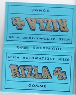 Carnet Papier à Cigarette - RIZLA N°136 - French Cigarette Rolling Paper - Altri