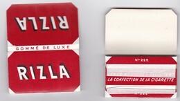 2 Carnets Anciens Papier à Cigarette - RIZLA N°222 - French Cigarette Rolling Paper - Altri
