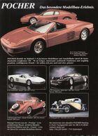 Page De Publicité POCHER 1991 Das Besondere Modellbau-Erlebnis - Tanks