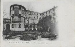 ALBI : Monastère  Notre Dame D' D'Albi -Façade Intérieure - Jardin ( Côté Du Pensionnat ) Rare - Albi