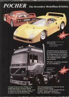 Page De Publicité POCHER FALLER 1992 Das Besondere Modellbau-Erlebnis - Panzer
