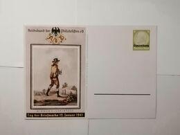 Deutsches Reich Postkarte  Tag Der Briefmarke 1941 Luxemburg - Germany